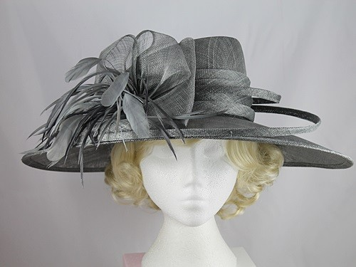 Failsworth Millinery Wide Brim Events Hat