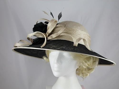 Wedding Hats 4U - Hawkins Collection Down Brim Wedding   Events Hat ... 9aaebb2dd2f