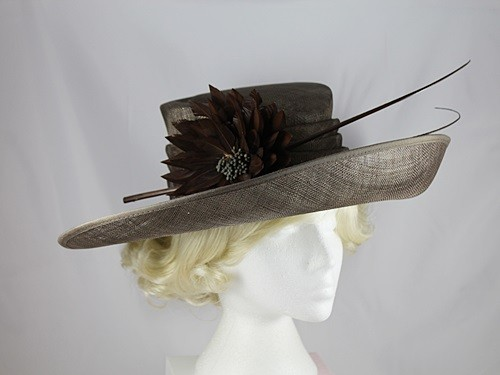 Hawkins Collection Upbrim Ascot Hat