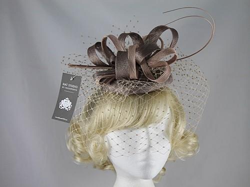 Failsworth Millinery Veiled Headpiece