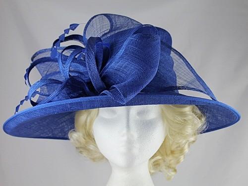 17f8802c Failsworth Millinery Wedding / Events Hat in Cobalt from Wedding Shopz