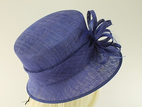Failsworth Millinery Loops and Feathers Wedding Hat