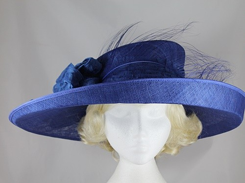 Failsworth Millinery Wide Brimmed Ascot Hat