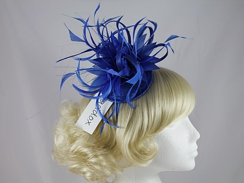 Maddox Feathers and Loops Headpiece