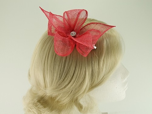 Elegance Collection Diamante Clip Fascinator