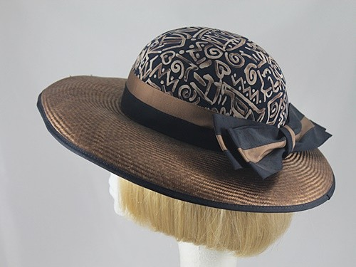 Country Casuals Black and Chocolate Formal hat