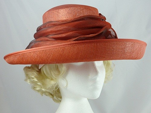 Country Casuals Red Occasion Hat