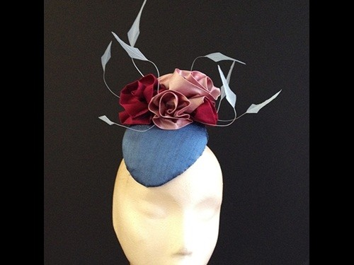 Couture by Beth Hirst Silk Flower Percher