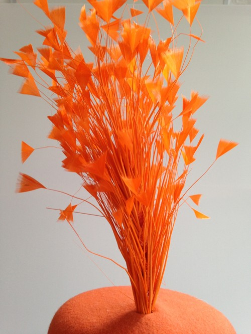 Couture by Beth Hirst Beaker Bright Orange Percher