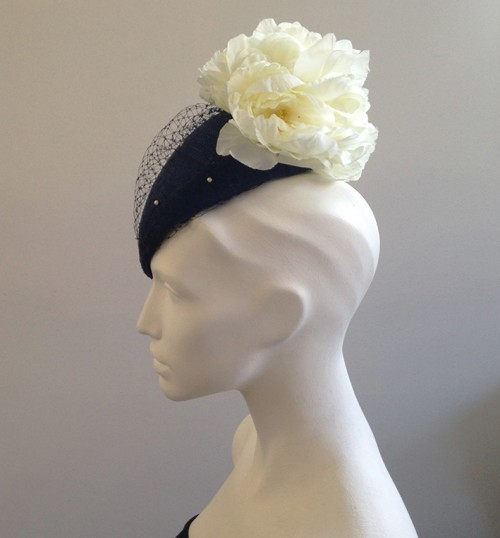 Couture by Beth Hirst Catherine in Navy and Cream