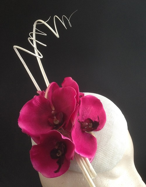 Couture by Beth Hirst Orchid Beret
