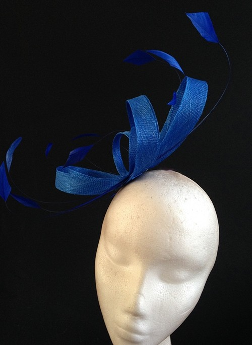 Couture by Beth Hirst Royal Blue Loops