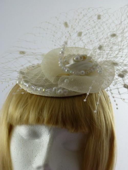 Anna Button Headpiece