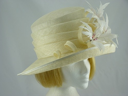 Nigel Rayment Carole Wedding hat