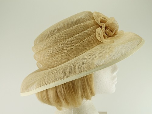 Cream Wedding Hat