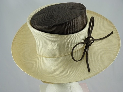 Whiteley Carris Wedding hat