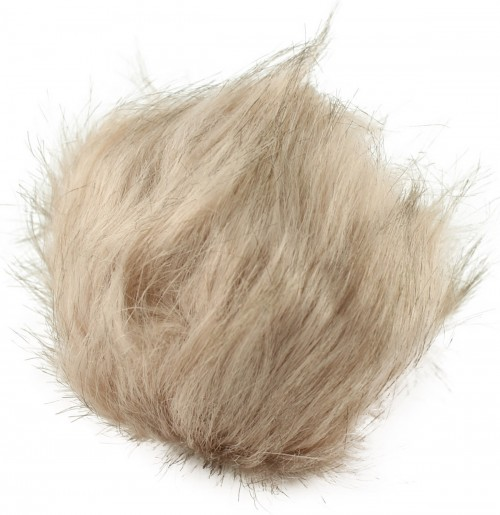 Zelly Detachable Bobble Pom Pom in Cream