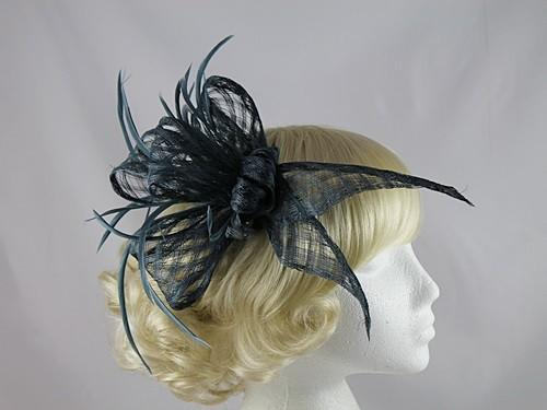 Dark Blue Headpiece