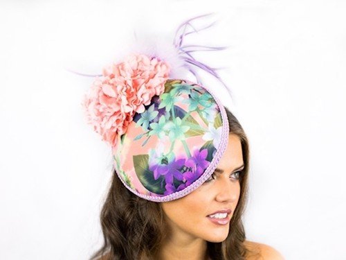 Deb Fanning Millinery Tropical Hat
