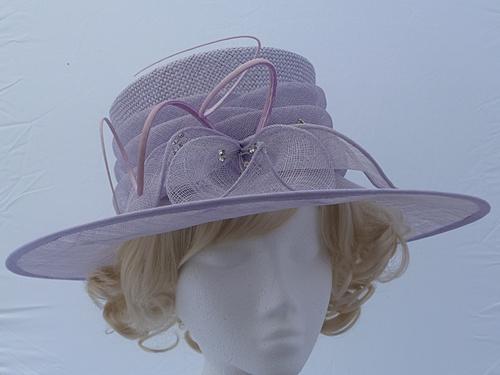 Wedding Hats 4U - Debut Lilac Hat in Lavender Lilac Violet 8b98ef21417