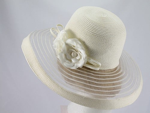 Dents Cream Formal Hat