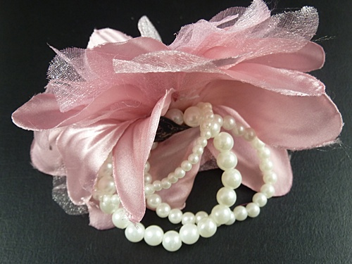 Pearl Flower Corsage