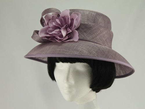 Eastex Lilac Wedding Hat