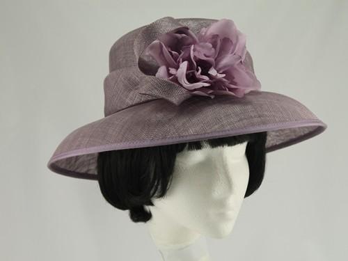 Eastex Lilac Wedding Hat