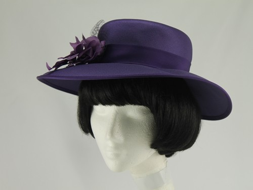 Eastex Purple and Mauve Formal Hat