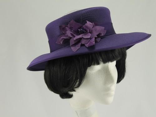 Eastex Purple and Mauve Formal Hat