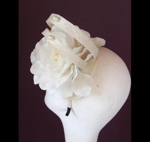 Edel Staunton Millinery Cream Rose