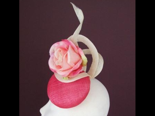 Edel Staunton Millinery Rose Twist
