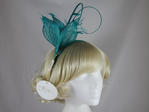 Hawkins Collection Quill and Leaves Fascinator