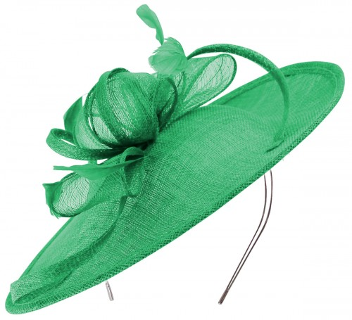 Wedding Hats 4U  Green Fascinators 2168f069c9d