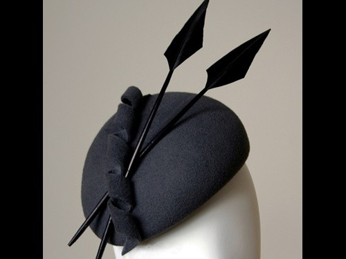 Esther Louise Millinery Felt Beret