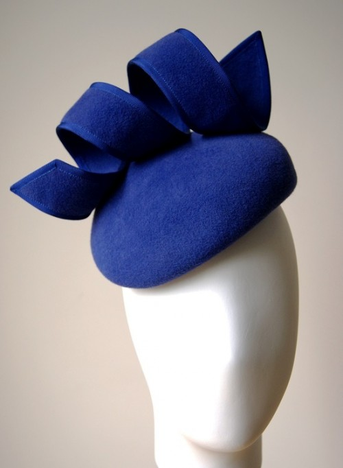 Esther Louise Millinery Royal Blue Beret