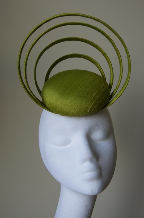 Esther Louise Millinery Hooped Button