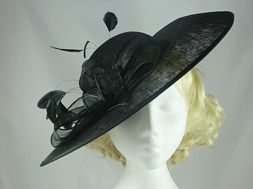 Wedding Hats 4U - Failsworth Millinery Disc Events Hat in Black 98056f325d5