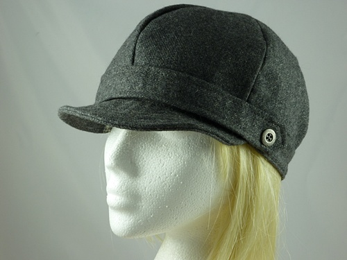 Wedding Hats 4U - Failsworth Millinery Sparkle Baker Boy Cap in Grey 3426f8387e2