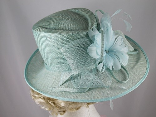 Failsworth Millinery Green Occasion Hat