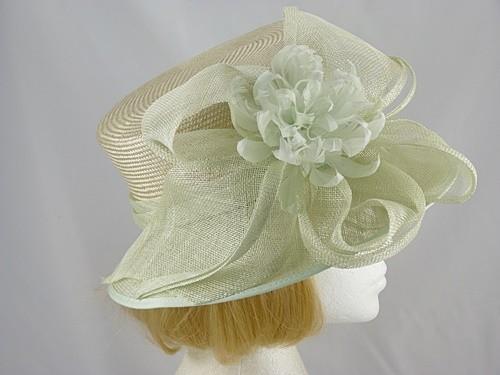 Failsworth Millinery Palest Green Wedding hat