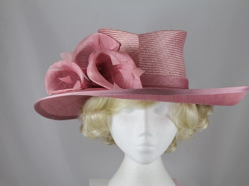 Failsworth Millinery Pink Events Hat