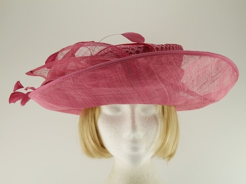 Failsworth Millinery Pink Wedding Hat