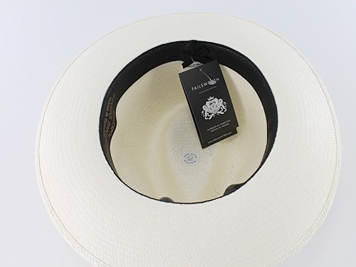 Failsworth Millinery Regimental Panama Hat