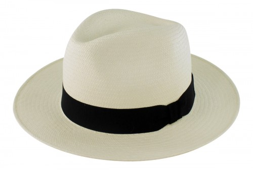 Failsworth Millinery Snap Brim Panama Hat