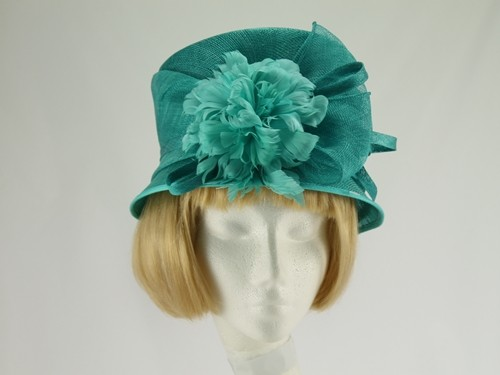 Failsworth Millinery Turquoise Wedding Hat