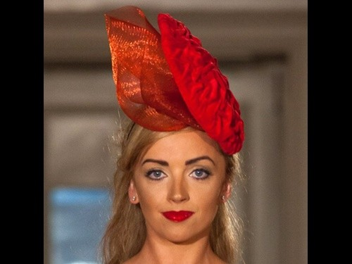 Fiona Mangan Millinery Flame