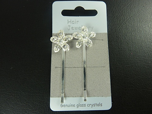 Flower Hair Slides