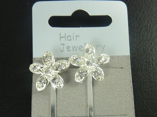 Diapositives Cheveux Fleur
