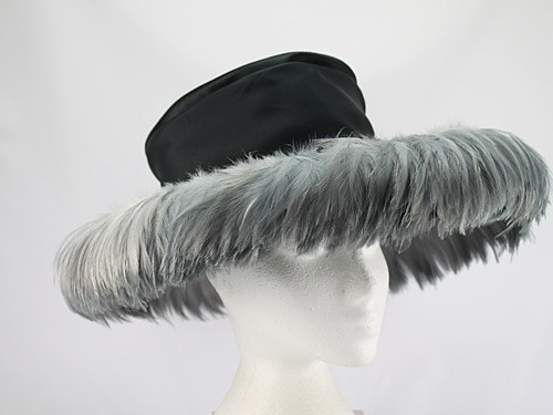 Frederick Fox Black and Grey Formal Hat